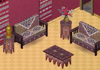 Living Room on Moroccan Living Room